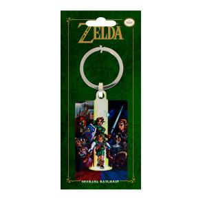 Legend of Zelda Ocarina of Time Metall Schlüsselanhänger 6 cm