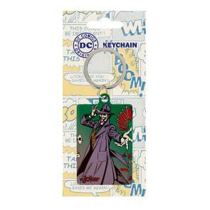 DC Comics Metall Schlüsselanhänger Joker 6 cm
