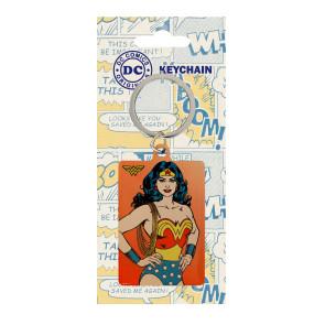 DC Comics Metall Schlüsselanhänger Wonder Woman 6 cm