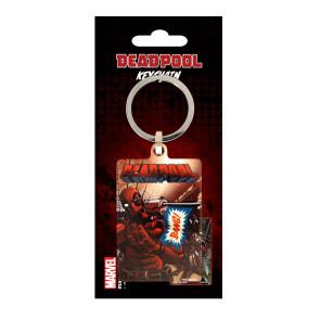 Deadpool Metall Schlüsselanhänger Bang 6 cm