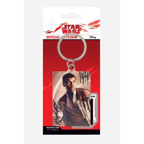 Star Wars Episode VIII Metall Schlüsselanhänger Finn Blaster 6 cm