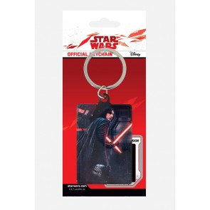 Star Wars Episode VIII Metall Schlüsselanhänger Kylo Ren Rage 6 cm