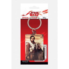Star Wars Episode VIII Metall Schlüsselanhänger Poe Battle Ready 6 cm