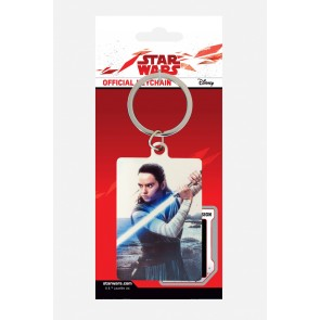 Star Wars Episode VIII Metall Schlüsselanhänger Rey Engage 6 cm