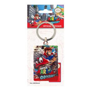 Super Mario Odyssey Metall Schlüsselanhänger Cover 6 cm