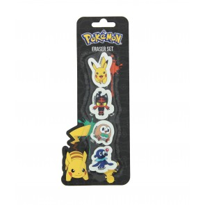 Pokemon Radierer 4-er Pack
