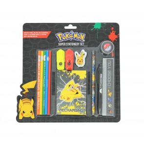 Pokemon XL Schreibwaren-Set I Choose You