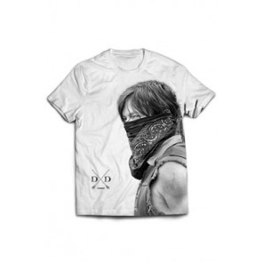 Walking Dead T-Shirt Daryl Sublimation Größe S