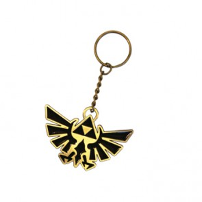 Zelda Schlüsselanhänger Triforce Logo