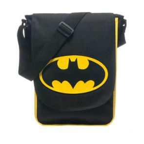Batman Umhängetasche Logo Schwarz Gelb
