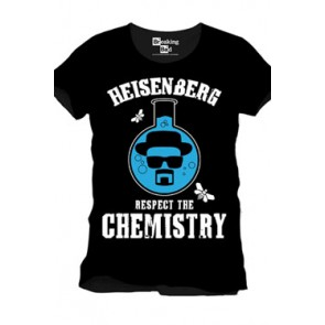 Breaking Bad T-Shirt Respect The Chemistry Größe L