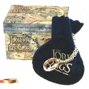 Lord of the Rings The One Ring mit roter Schrift (21mm)