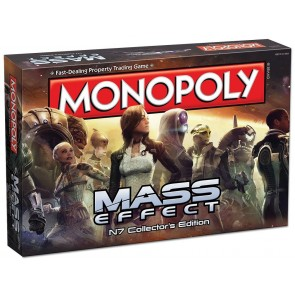 Mass Effect Brettspiel Monopoly *Deutsche Version*