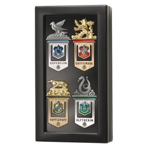 Harry Potter - Hogwarts Lesezeichen 4er Set