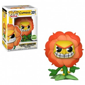 Cuphead Cagney Carnation POP! Figur 9 cm Spring Convention Exclusive