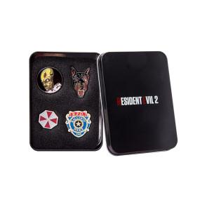Resident Evil 4er-Pack Collectors Ansteck-Pins