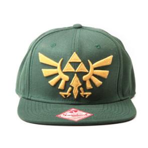 The Legend of Zelda Snap Back Hip Hop Cap Embroided Gold Logo