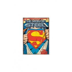 Superman Blechschild Super Suit 41 x 30 cm