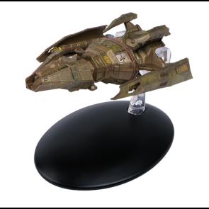 Star Trek Hirogen Agriffsschiff Modell