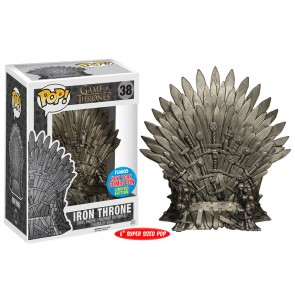 Game of Thrones Iron Throne POP! Figur 15 cm NYCC Exclusive