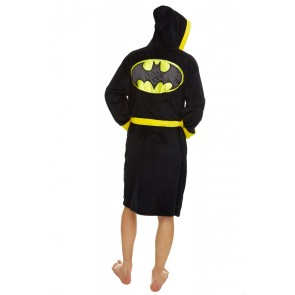 DC Comics Fleece-Bademantel Batman Logo