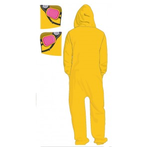Breaking Bad Jumpsuit Overall mit Kapuze Cook Suit