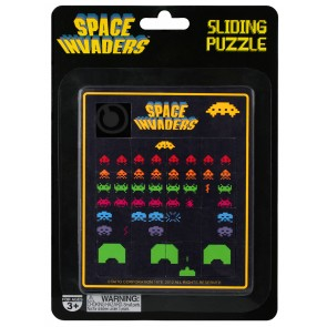 Space Invaders Schiebepuzzle