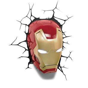 Marvel Iron Man Maske 3D LED Leuchte