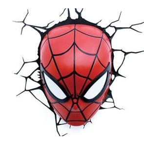 Marvel 3D LED Leuchte Spiderman