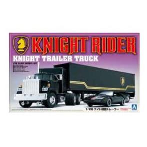 Knight Rider Modellbausatz 1/24 Trailer Truck