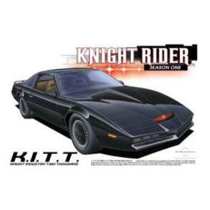 Knight Rider Modellbausatz 1/24 Pontiac Transam Knight Rider K.I.T.T. Season 1