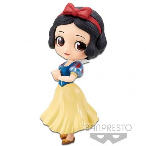 Disney Q Posket Minifigur Snow White A Normal Color Version 14 cm