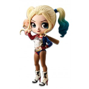 Suicide Squad Q Posket Minifigur Harley Quinn A Normal Color Version 14 cm