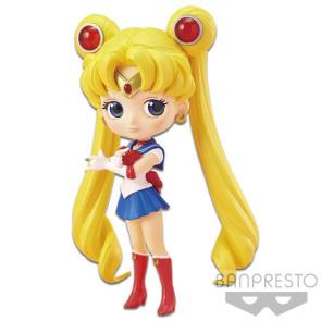 Sailor Moon Q Posket Minifigur Sailor Moon 14 cm