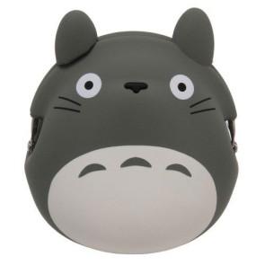 Mein Nachbar Totoro Mini Geldbeutel Totoro grau 9 cm