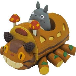 Mein Nachbar Totoro Rückzug-Fahrzeug Buskatze