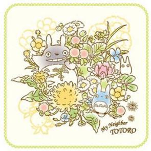 Mein Nachbar Totoro Mini-Handtuch Spring Bouquet 25 x 25 cm