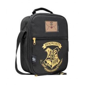 Harry Potter Hogwarts Isoliertasche Black & Gold