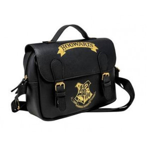Harry Potter Hogwarts Isoliertasche Black & Gold (Satchel Style)
