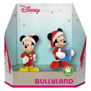 Disney Geschenkbox mit 2 Figuren Micky Christmas 8 - 10 cm