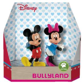 Disney Geschenkbox mit 2 Figuren Micky Valentine 8 - 10 cm