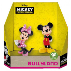 Disney Geschenkbox mit 2 Figuren Micky The True Original 8 - 10 cm