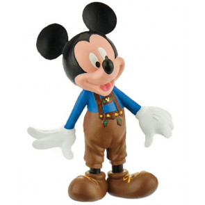 Disney Mickey Mouse & Friends Figur Micky Lederhose 7 cm
