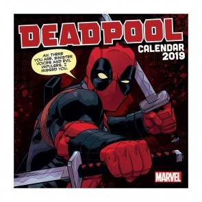 Deadpool Kalender 2019 *Englische Version*
