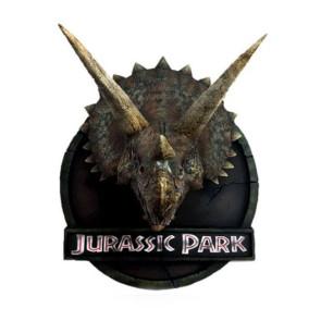 Jurassic Park Triceratops Büste 48 cm