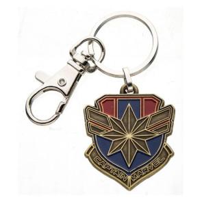 Captain Marvel Logo Metall Schlüsselanhänger