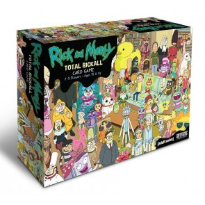 Rick and Morty Kooperatives Kartenspiel Total Rickall
