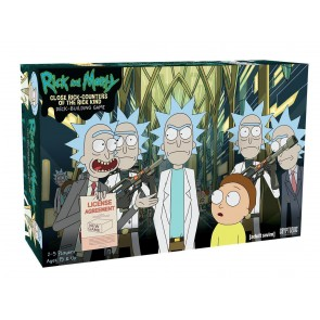 Rick and Morty Deck-Building Kartenspiel Close Rick-Counters of the Rick Kind