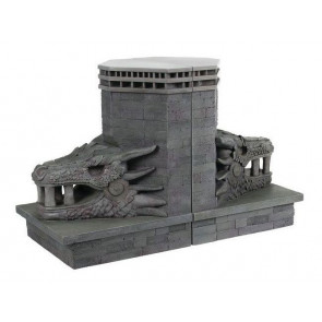 Game of Thrones Buchstützen Dragonstone Gate Dragon 20 cm
