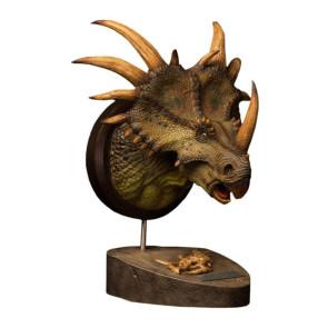 Paleontology World Museum Collection Series Büste Styracosaurus Green Ver. 27 cm